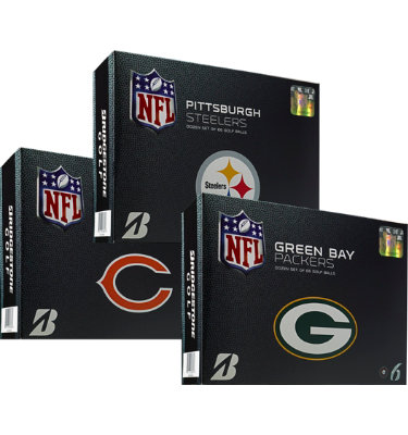 Bridgestone E6 NFL Edition Golf Balls - 12 pack