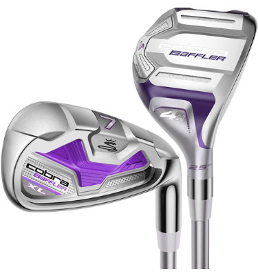 Cobra Women's Baffler XL Irons - (Graphite) 4-6H, 7-SW