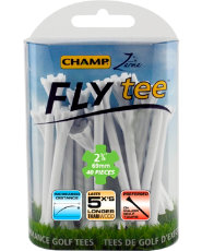"CHAMP Zarma FLYtee 2 3/4"" Golf Tees - 40 Count"
