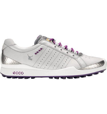 ECCO Women's BIOM Hybrid Sport Golf Shoe - Concrete/Imperial Purple