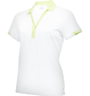 EP Pro Women's Contrast Collar Short Sleeve Polo