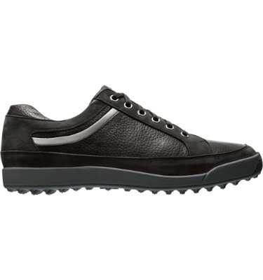 FootJoy Men's Contour Casual Golf Shoe - Black/Silver