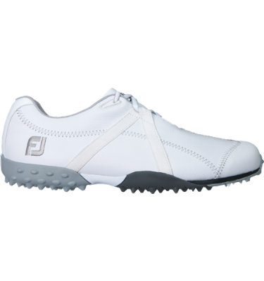 FootJoy Women's M:PROJECT Spikeless Leather Golf Shoe - White