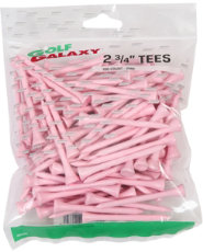 "Golf Galaxy 2 3/4"" Pink Golf Tees - 100 Pack"