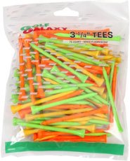 "Golf Galaxy 3 1/4"" Citrus Golf Tees - 100 Pack"