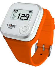 Golf Buddy Voice GPS Wrist Band - Orange