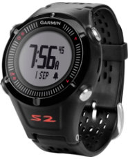 Garmin Approach S2 GPS Watch - Black/Red