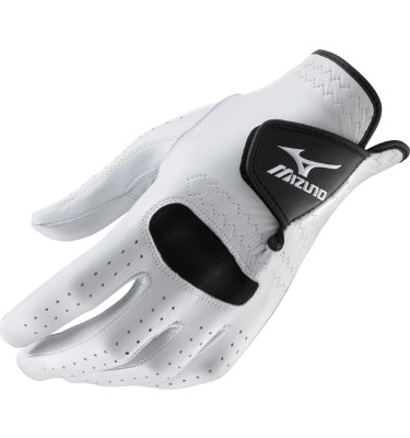 Mizuno Men's RetroFlex Pro Golf Glove - White/Black