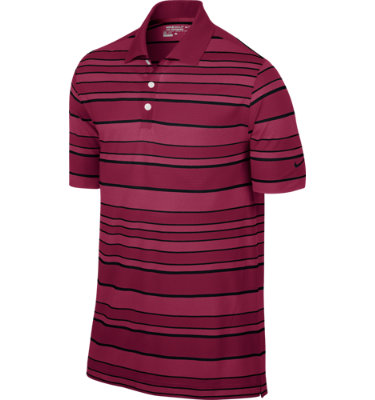 Nike Men's Bold Stripe Short Sleeve Polo