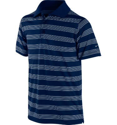 Nike Boy's Tech Stripe Short Sleeve Polo
