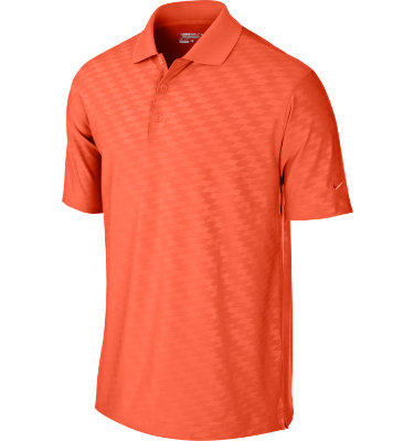 Nike Men's Embossed Short Sleeve Polo