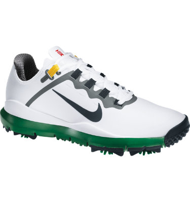 Nike Men's TW 13 Limited Edition Golf Shoe - White/Green