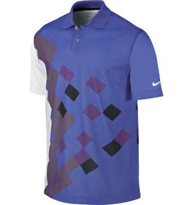 Nike Men's Fashion Trajectory Print Short Sleeve Polo