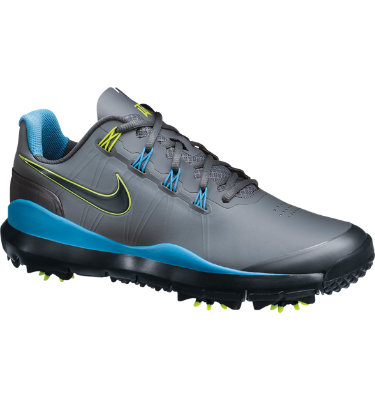 Tiger Woods Collection Men's TW 14 Golf Shoe - Cool Grey/Vivid Blue