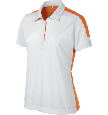 Nike Women's Graphic Blocked Short Sleeve Polo