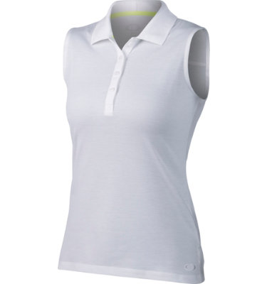 Oakley Women's Zinger Solid Sleeveless Polo