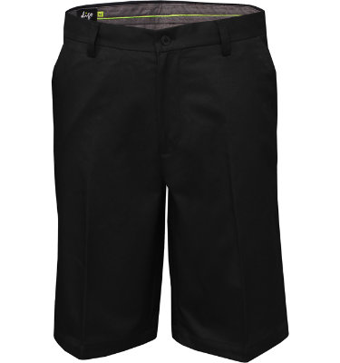 Sligo Men's Solid Flat Front Short