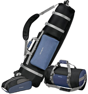 Samsonite Deluxe 3 Piece Golf Set