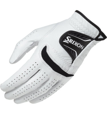Srixon Men's Cabretta Leather Golf Glove - White