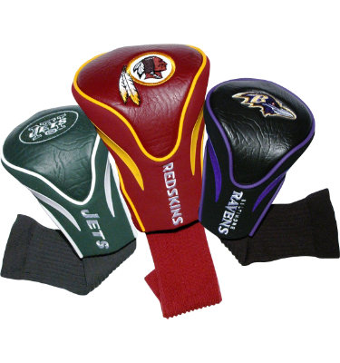 Team Golf NFL Series Contour Sock Headcovers - 3 pack