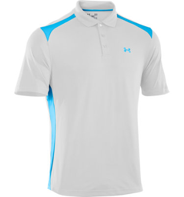 Under Armour Men's Colorblock Short Sleeve Polo