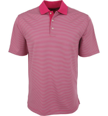 Walter Hagen Men's Columbia Stripe Short Sleeve Polo