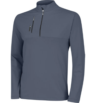 adidas Men's Mixed Media 1/4-Zip