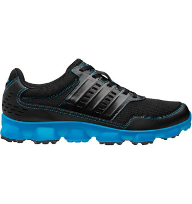 adidas Men's Crossflex Sport Spikeless Golf Shoe - Black/Solar Blue