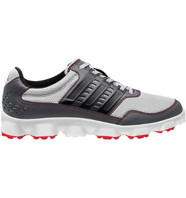 adidas Men's Crossflex Sport Spikeless Golf Shoe - Aluminum/Black/Dark Onyx