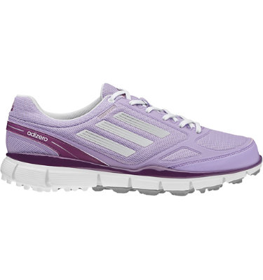 adizero Women's adizero Sport II Golf Shoe - Glow Purple/White/Metallic Silver
