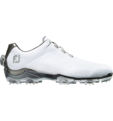 FootJoy Men's DNA BOA Golf Shoe - White/Grey