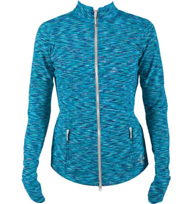 Jofit Women's Space Dye Thumbs Up Jacket