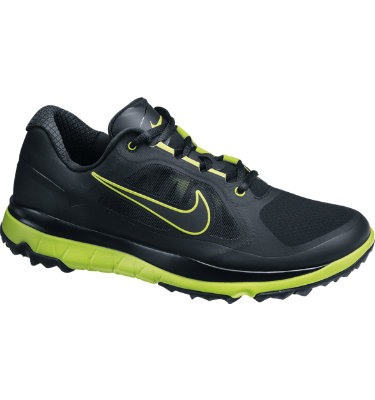 Nike Men's FI Impact Spikeless Golf Shoe - Black/Venom Green