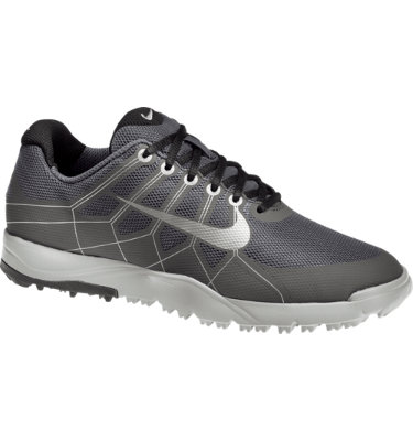 Nike Juniors' Range Jr. Golf Shoe - Dark Grey/Meta