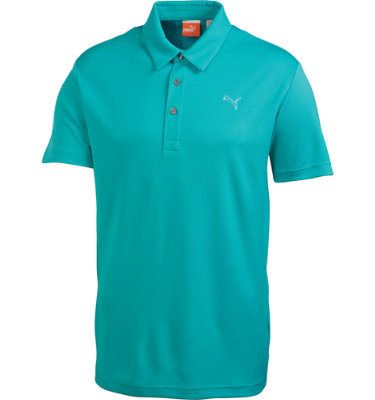 PUMA Juniors' Tech Short Sleeve Polo