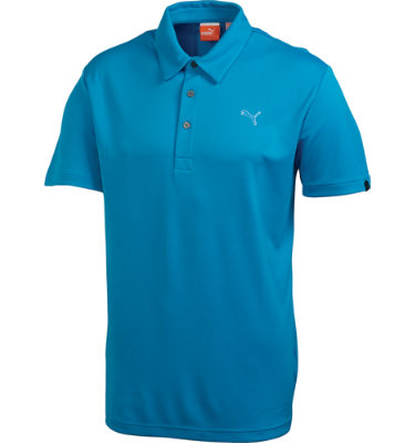 PUMA Men's Raglan Tech Short Sleeve Polo