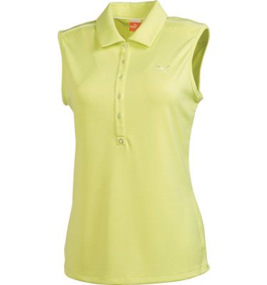 PUMA Women's Golf Tech Sleeveless Polo