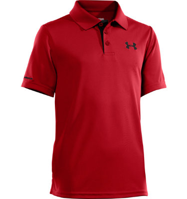 Under Armour Boys' Matchplay Short Sleeve Polo
