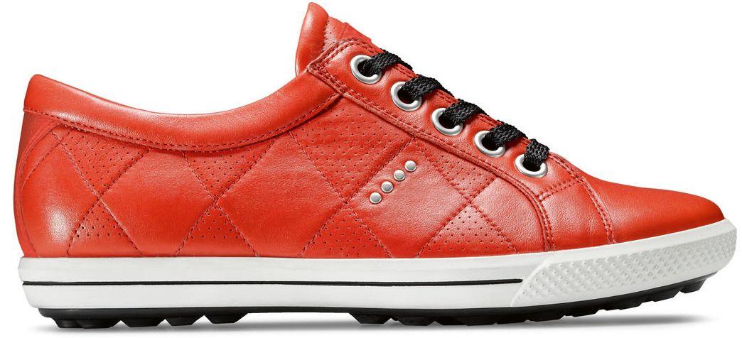 ECCO Women's Street Premiere Golf Shoes - Red