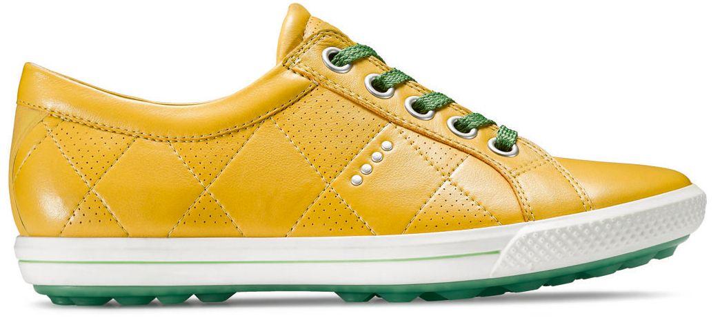 ECCO Women's Street Premiere Golf Shoes - Yellow