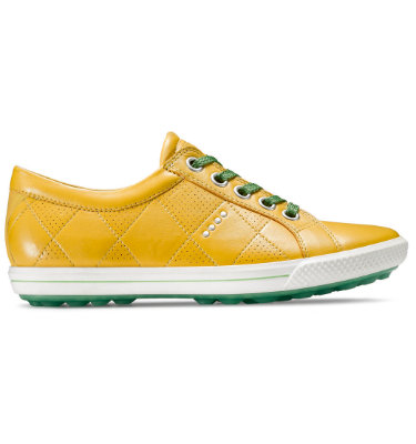ECCO Women's Street Premiere Golf Shoes - Yellow
