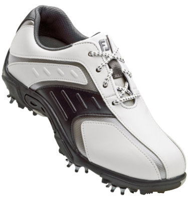 FootJoy Juniors' Super Lite Golf Shoe - White
