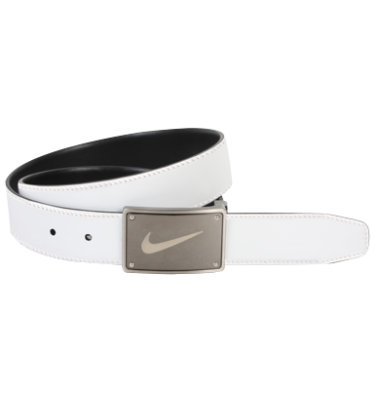 Nike Swoosh Plaque Reversible Belt