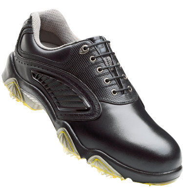 FootJoy Men's SYNR-G Golf Shoes  - Black (Disc Style 53965)