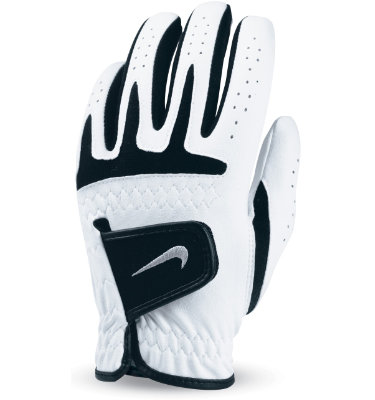 Nike Tech Jr Golf Glove - White/Black