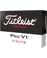 Titleist Pro V1 X-Out Golf Balls - 12 pack
