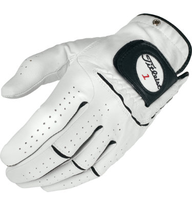 Titleist Men's Players-Flex Golf Glove - White