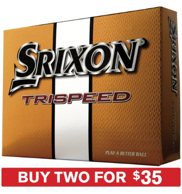 Srixon Trispeed Golf Balls 2010 - 12 pack