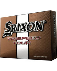 Srixon Trispeed Tour Golf Balls 2010 - 12 pack