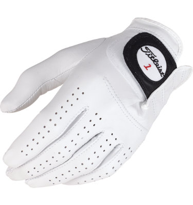 Titleist Men's Players Golf Glove - White